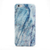 Blue Galaxy Marble Full Wrap Protective Phone Case by UltraCases