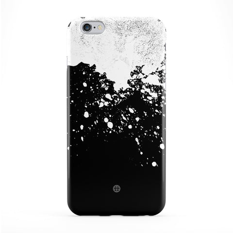 White Ink Blot Full Wrap Protective Phone Case by UltraCases