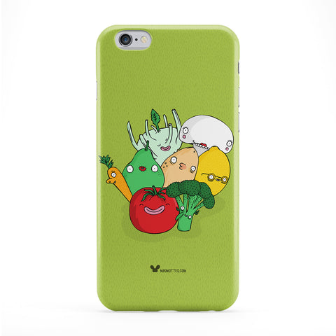 Veg Party Phone Case by Miki Mottes