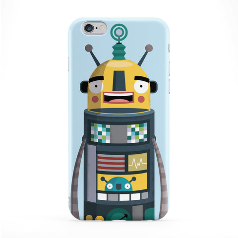 Robot Phone Case by Miki Mottes