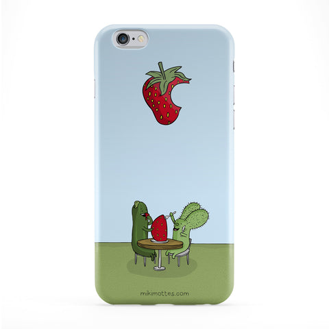 Rabtus and Cumber Strawberry Phone Case by Miki Mottes