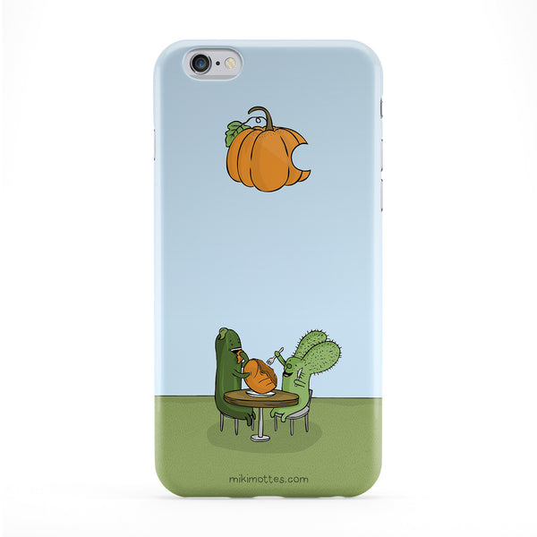 Rabtus and Cumber Pumpkin Phone Case by Miki Mottes
