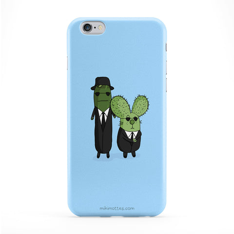 Rabtus And Cumber Blues Brothers Phone Case by Miki Mottes