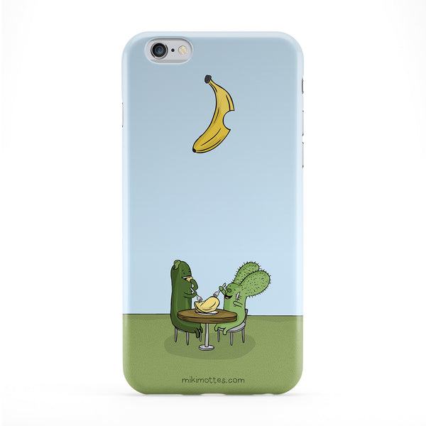 Rabtus and Cumber Banana Phone Case by Miki Mottes