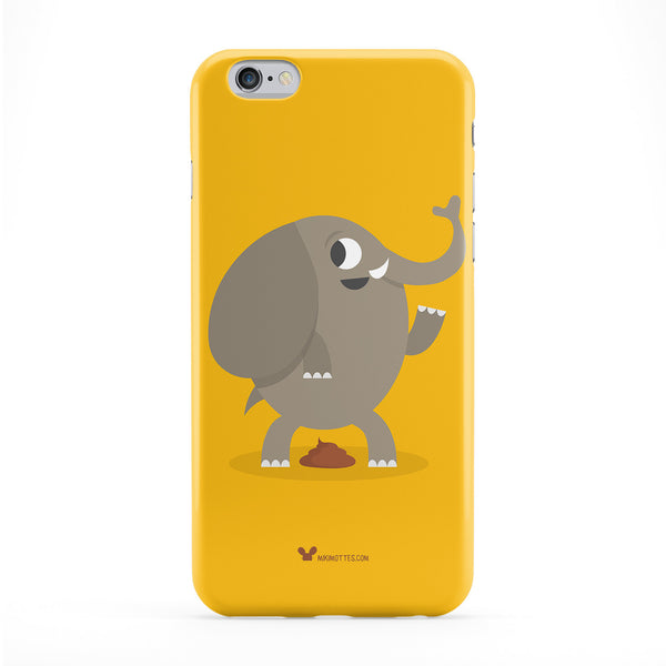 Poo Elephant Phone Case by Miki Mottes