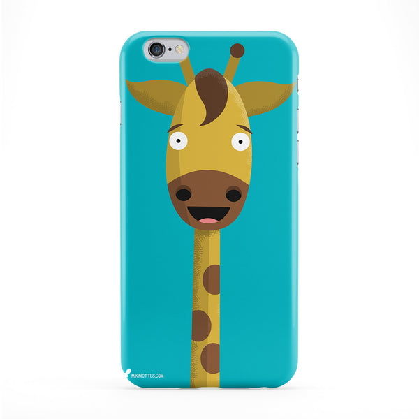 Giraffe Full Wrap Protective Phone Case by Miki Mottes