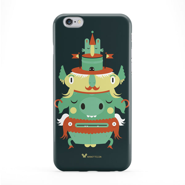 Creatures Phone Case by Miki Mottes