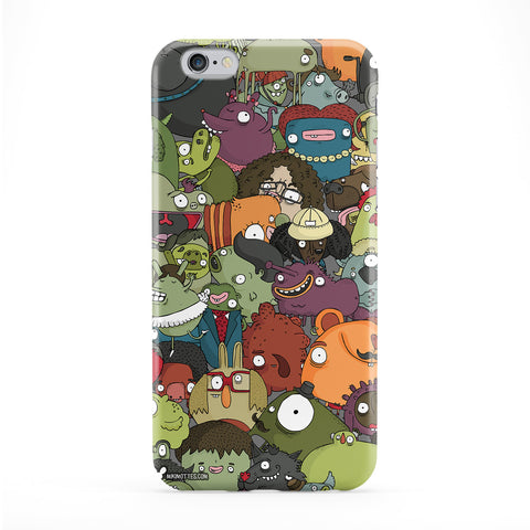 Creatures Mess Phone Case by Miki Mottes