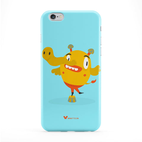 Circus Dude Phone Case by Miki Mottes