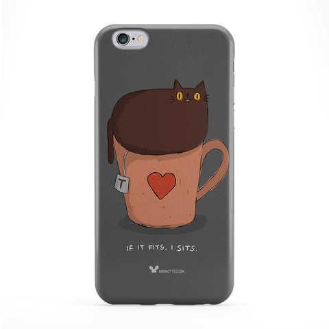 Cat If It Fits Phone Case by Miki Mottes