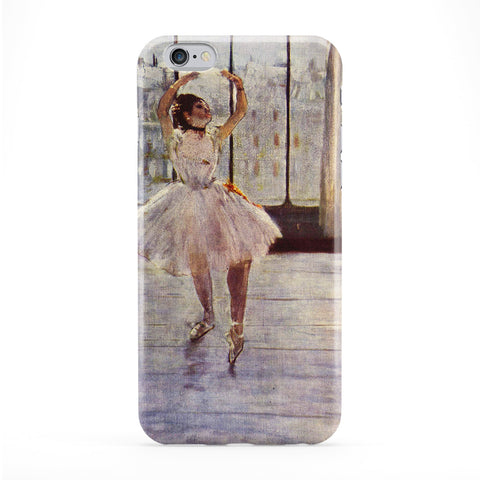 Ballerian Girl 2 by Edgar Degas Full Wrap Protective Phone Case by Painting Masterpieces