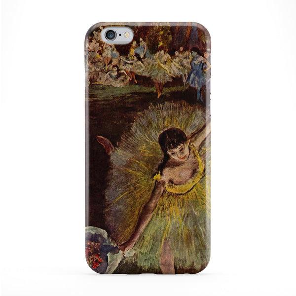 Ballerian Girl 4 by Edgar Degas Full Wrap Protective Phone Case by Painting Masterpieces