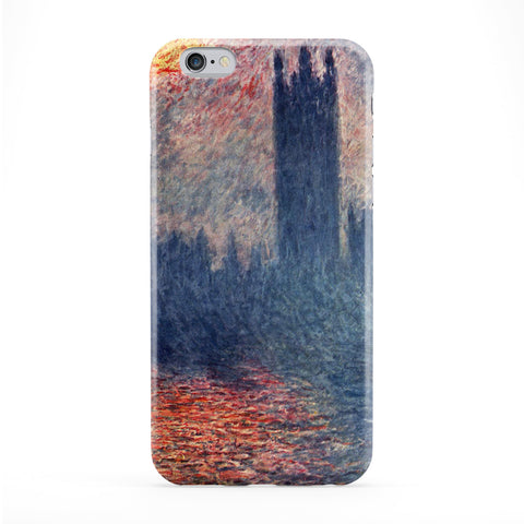 Claude Monet by Claude Monet Full Wrap Protective Phone Case by Painting Masterpieces
