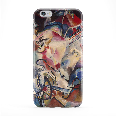 Composition VI by Kandinsky Full Wrap Protective Phone Case by Painting Masterpieces