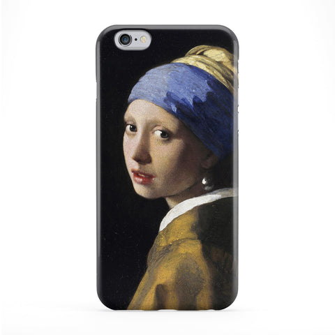 Girl with a Pearl Earring by Johannes Vermeer Full Wrap Protective Phone Case by Painting Masterpieces