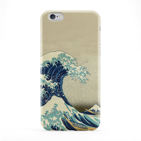 Great Wave off Kanagawa 2 by Katsushika Hokusai Full Wrap Protective Phone Case by Painting Masterpieces