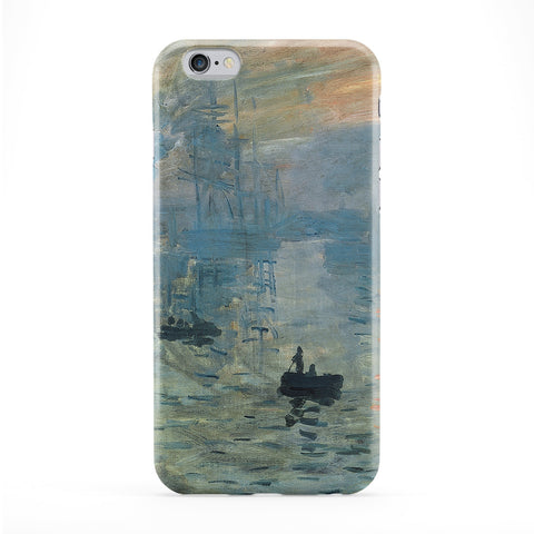 Impression soleil levant 2 by Claude Monet Full Wrap Protective Phone Case by Painting Masterpieces