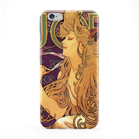 Job Cigarettes by Alphonse Maria Mucha Full Wrap Protective Phone Case by Painting Masterpieces