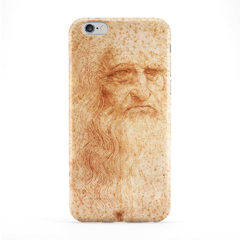 Leonardo da Vinci Presumed Self Portrait by Leonardo da Vinci Full Wrap Protective Phone Case by Painting Masterpieces