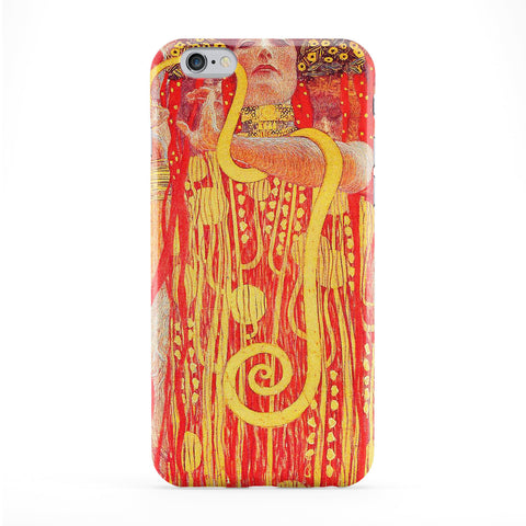 Medizin by Gustav Klimt Full Wrap Protective Phone Case by Painting Masterpieces