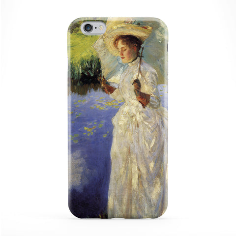 Morning Walk by John Singer Sargent Full Wrap Protective Phone Case by Painting Masterpieces
