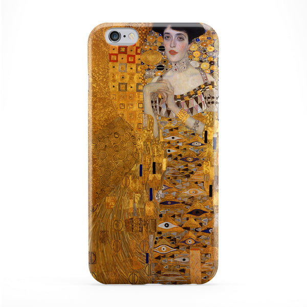 Portrait of Adele Bloch-Bauer by Gustav Klimt Phone Case by Painting Masterpieces