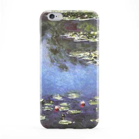 Seerosen 1906 by Claude Monet Full Wrap Protective Phone Case by Painting Masterpieces
