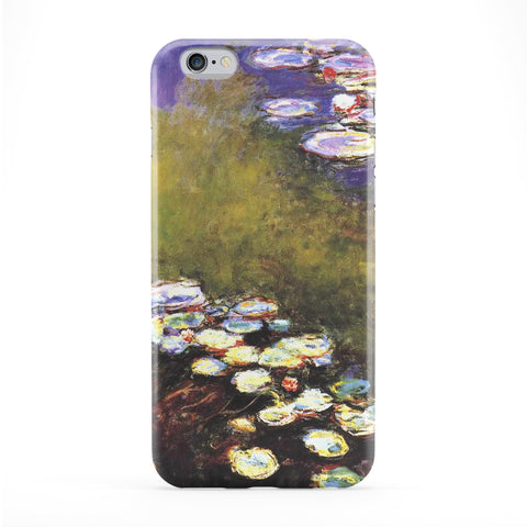Seerosen 6 by Claude Monet Full Wrap Protective Phone Case by Painting Masterpieces