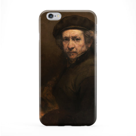 Self Portrait 2 by Rembrandt Phone Case by Painting Masterpieces