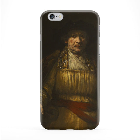 Self Portrait by Rembrandt Phone Case by Painting Masterpieces