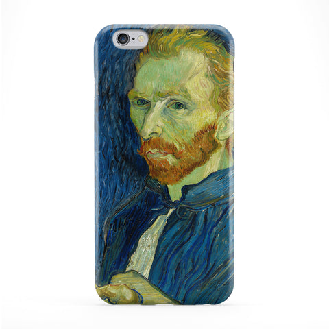 Self-Portrait 3 by Van Gogh Full Wrap Protective Phone Case by Painting Masterpieces