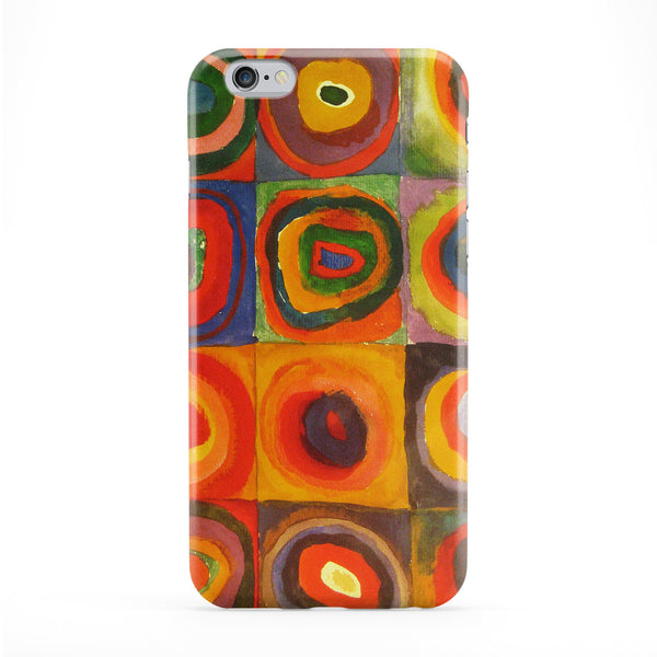 Squares with Concentric Circles by Kandinsky Phone Case by Painting Masterpieces