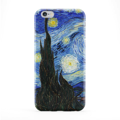 Starry Night 1 by Van Gogh Full Wrap Protective Phone Case by Painting Masterpieces