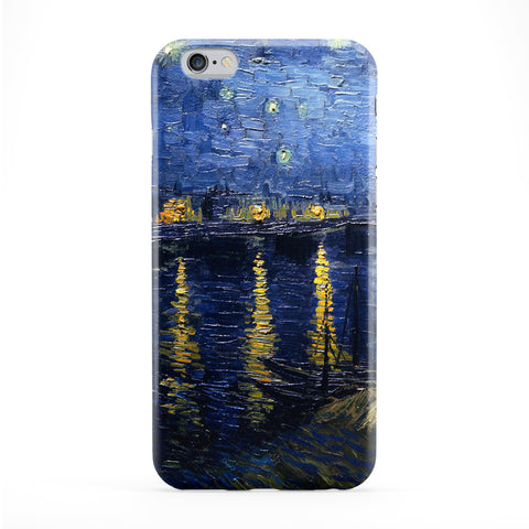 Starry Night Over the Rhone by Van Gogh Full Wrap Protective Phone Case by Painting Masterpieces