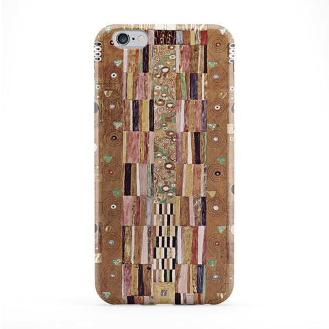 Stoclet Frieze by Gustav Klimt Full Wrap Protective Phone Case by Painting Masterpieces