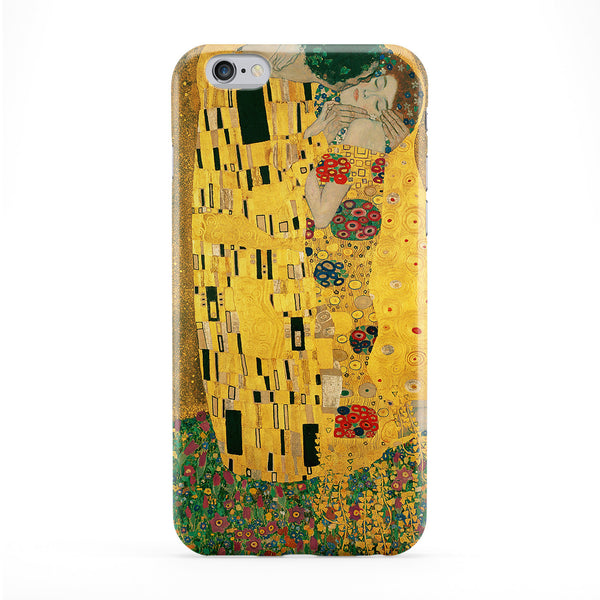 The Kiss by Gustav Klimt Phone Case by Painting Masterpieces