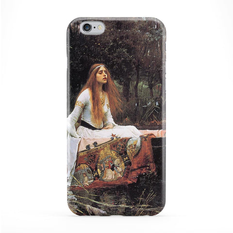 The Lady of Shalott by John William Waterhouse Full Wrap Protective Phone Case by Painting Masterpieces