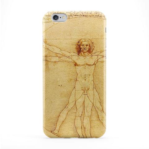 Vitruve Luc Viatour by Leonardo da Vinci Phone Case by Painting Masterpieces