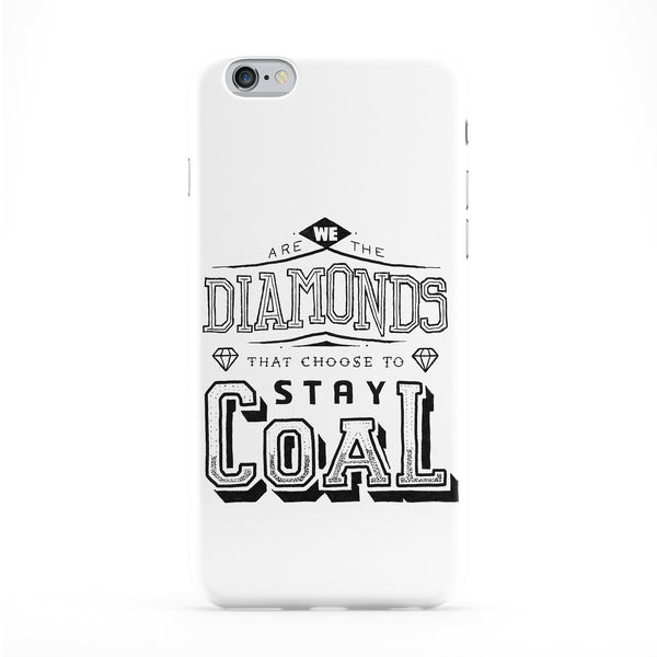 We Are The Diamonds Phone Case by Max Duff