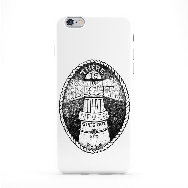 There Is A Light Phone Case by Max Duff