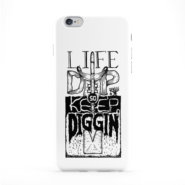 Life Is Deep Phone Case by Max Duff