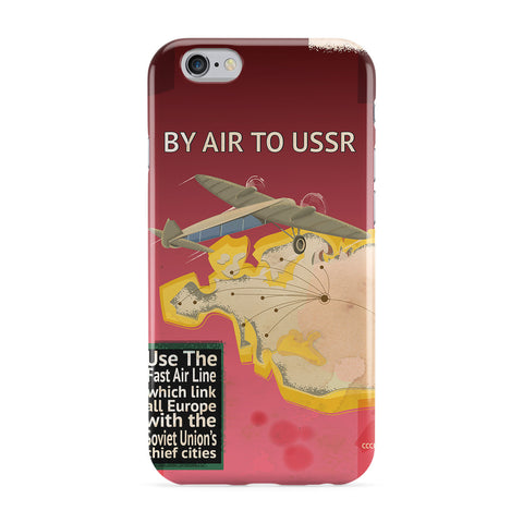 Vintage Soviet Travel Poster Phone Case by Nick Greenaway
