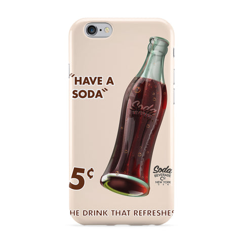 Soda Commercial Full Wrap Protective Phone Case by Nick Greenaway