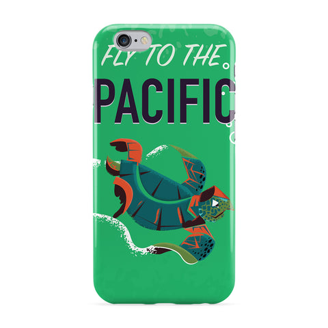 Pacific Travel Poster Phone Case by Nick Greenaway