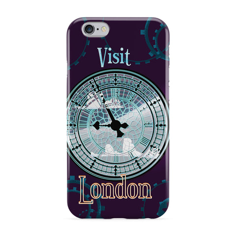 London Big Ben Full Wrap Protective Phone Case by Nick Greenaway