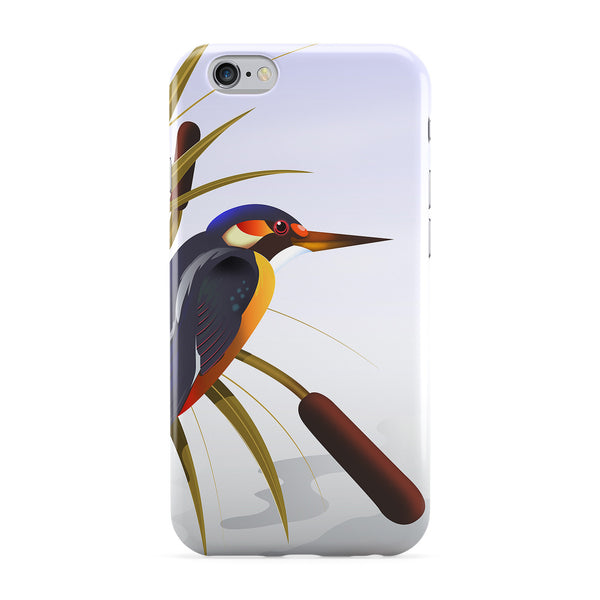 Kingfisher Full Wrap Protective Phone Case by Nick Greenaway