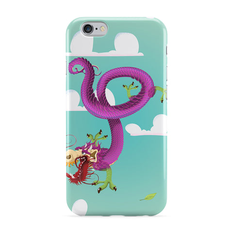 Chinese Dragon Full Wrap Protective Phone Case by Nick Greenaway