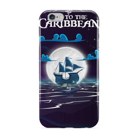 Caribbean Travel Poster Phone Case by Nick Greenaway