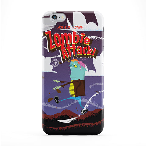 Zombie Full Wrap Protective Phone Case by Nick Greenaway