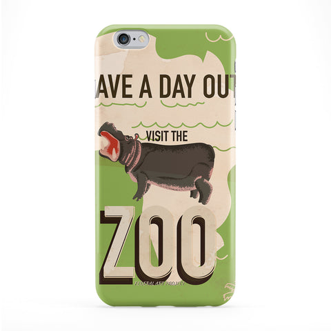 Visit the Zoo Full Wrap Protective Phone Case by Nick Greenaway